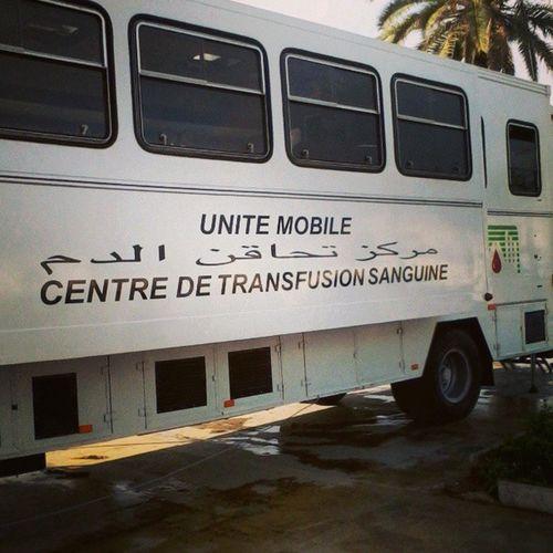Dons du sang 2013.. Centre de transfusion sanguine mobile à Bab El Had Donnezdusang MAROC21