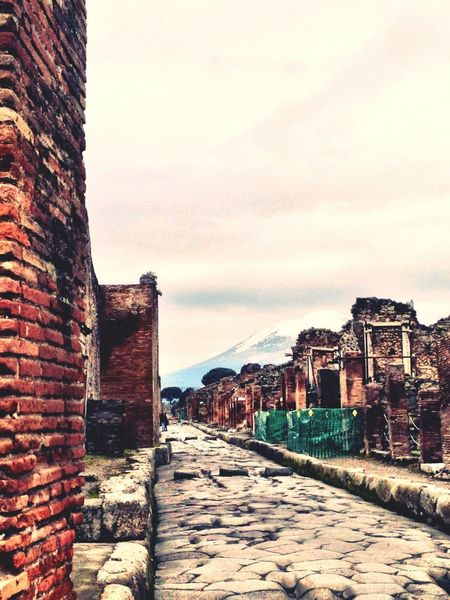 Greetings From Pompei