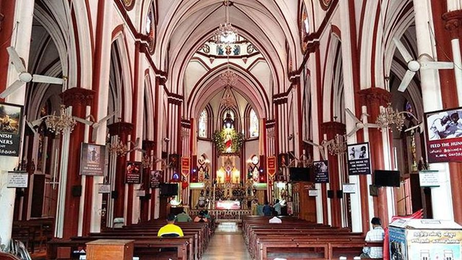 SecredHeart Church Pondicherry Pudducherry Inside Peace