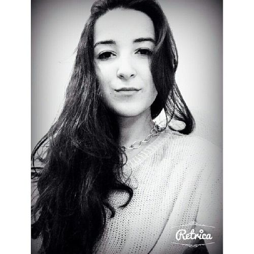 º•ºWhiteblack School Girl Pretty instamoodinstamood