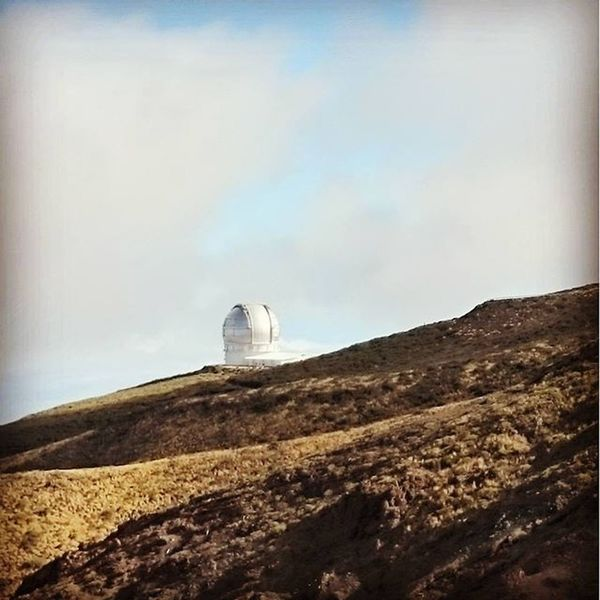 Laislabonita Canarias LaPalma Observatories Volcano Mountains Above The Clouds Observatory Star Searching