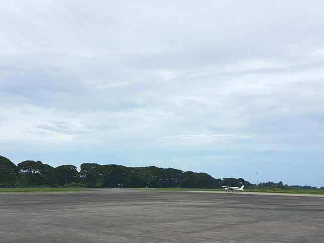 🛩 Dumaguete - Sibulan Airport 🛩 Negros Oriental Philippines EyeEmNewHere First Eyeem Photo Eyeem Philippines Samsung Galaxy S7 Travel Travel Photography Vacations No People Transportation Nature Beauty In Nature Mode Of Transport Landscape Cloud - Sky Outdoors Tree Sky Day Airport Airport Runway Airplane Air Vehicle AirPlane ✈ Long Goodbye
