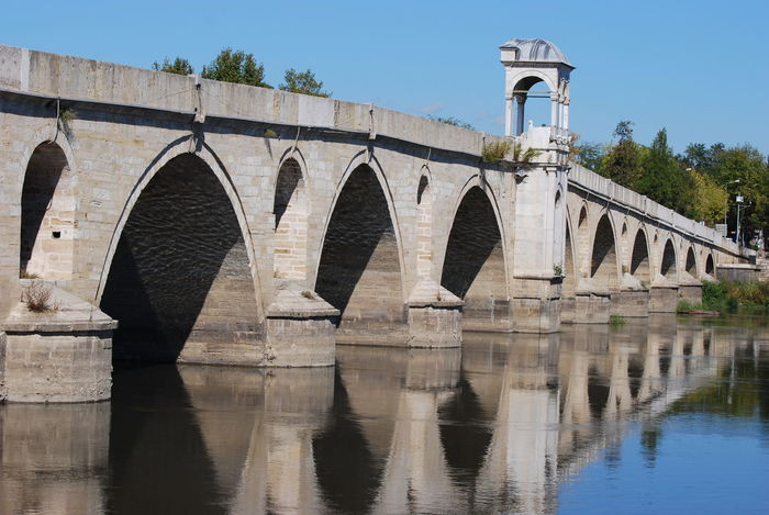 Meriç Arch Architectural Column Architecture Bridge - Man Made Structure Built Structure Connection Day Mericnehri No People Outdoors Sky Sunlight Tree Water