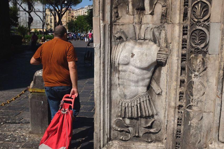Men, now and then Napoli ❤ Napoli Napoli Street Napoli Italy Napoliphotoproject Igersoftheday Italy Italia