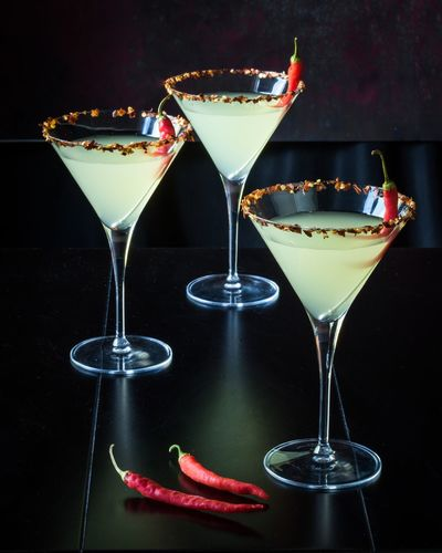 Thai one on! Food And Drink Drink Refreshment Indulgence Beverage Adult Cocktail Nightcap Sophisticated Alcohol Libation Classy Martini Drink Peppers Cocktails Night Cap Food Styling