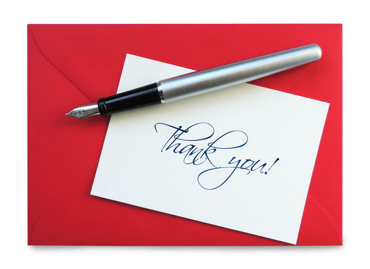 Thank you card with fountain pen and envelope, isolated on white background. Isolated Thank You Art And Craft Close-up Communication Envelope Fountain Pen Gratitude Greeting Card  Handwriting  High Angle View Indoors  Isolated On White Isolated White Background Message No People Paper Pen Pencil Still Life Text Thank You Card Top View White Color Writing Instrument