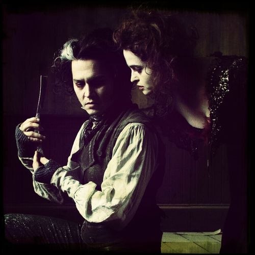 Johnny Depp Helena Bonham-Carter Cannibal Movie Night
