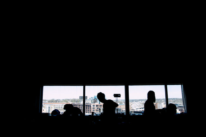 Second shooter for mr. Snapshot75 for a wedding [i only do weddings for personal or second shoot] too hectic for me to keep up with Dowtown StPaul City View  Hotel Room Silhouette Hair And Makeup Prepping