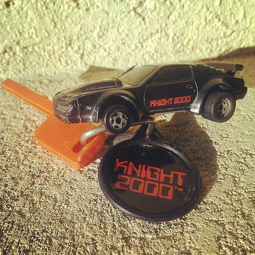 Here's my Knightrider Keycar from 1982 made by Kidco . Still works though its Popculture significance is probably more important. Davidhasselhoff not included. Bummer . 80sshows 80schild 80sKid 80sTV 80stoys Ilovethe80s Vintagetoys Toypics Toygang Retro Retrotoys Vintage Toystoystoys Toycollector Toycommunity Toycrewbuddies Toycollection Toystoystoys toys4life toyrevolution toycars