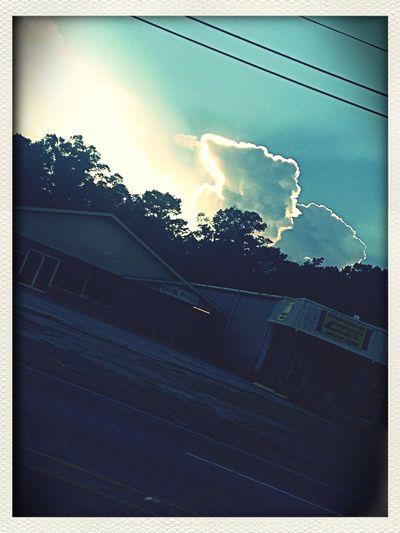 The sky :O lmao.