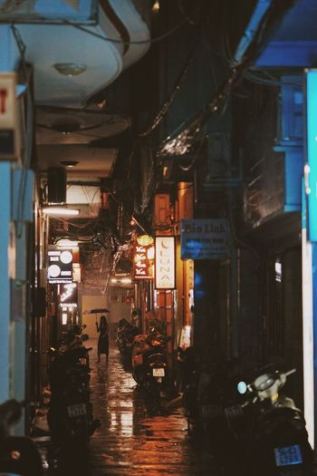 43 Golden Moments Check This Out Showcase July Hidden Gems  Little Japan Saigon Saigonese Rain Rainning Day Alley Small Corners Vietnam To Travel