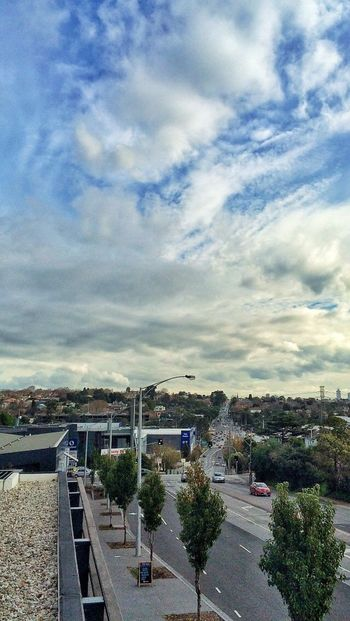 Good afternoon Melbourne.. ♡melbourne IPhone 5S Landscapes Onmybalcony
