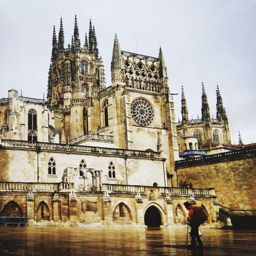 Burgos Catedral De Burgos Camino De Santiago