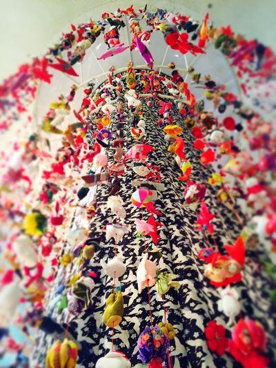ホールの天井まであるつるし雛で、なかなか見応えがありました。 Japanese Style Japanese Culture Praying ひなまつり ひな祭り