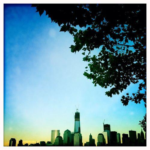 New York City Skyline from Jersey City