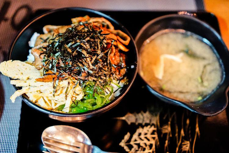 Food Eat Seaweed Soup South Korea Delicious Dinner Lunch Breakfast Curry Korean Food Asian Food Japanese Food Rice - Food Staple Indian Food Sushi Sashimi