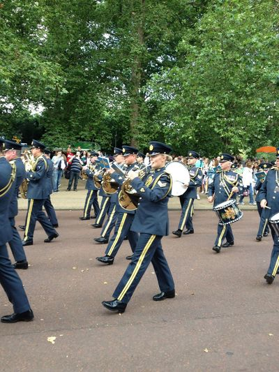 capturing motion Brass Band Music Uniform Royal Air Force London Lifestyle