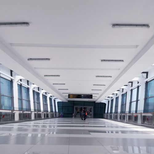 Architecture Airport Airportphotography Indoors  Architecture_collection Art Building Built Structure Creativity Creatures Design Designed EyeEm Best Shots EyeEmNewHere EyeEm Best Shots - Nature Skyscraper Travel Full Length INDONESIA Indonesia_photography Corridor People Adult Day City Only Men