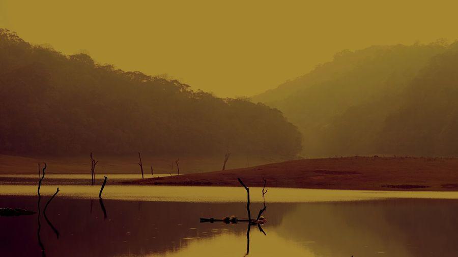 Landscape Lake Tranquil Scene