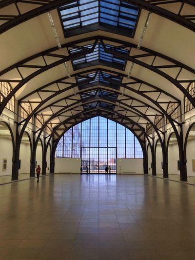 Arch Architecture Emptiness Hamburger Bahnhof Indoors  Modern Museum Symmetry EyeEmNewHere