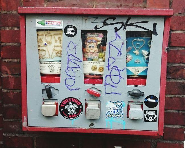 hat mal jemand 50 Pfennig?Kaugummiautomat Kaugummiautomaten Gumballmachine Gumball Machine Gumball Machines