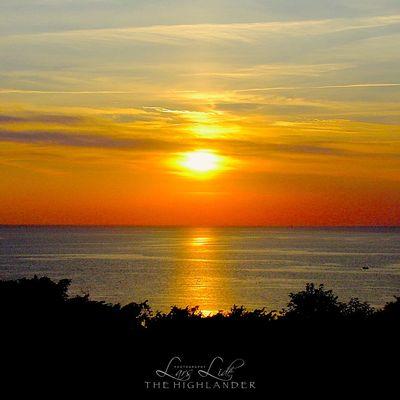 Sunset Sky Water Sea Scenics - Nature Beauty In Nature Orange Color