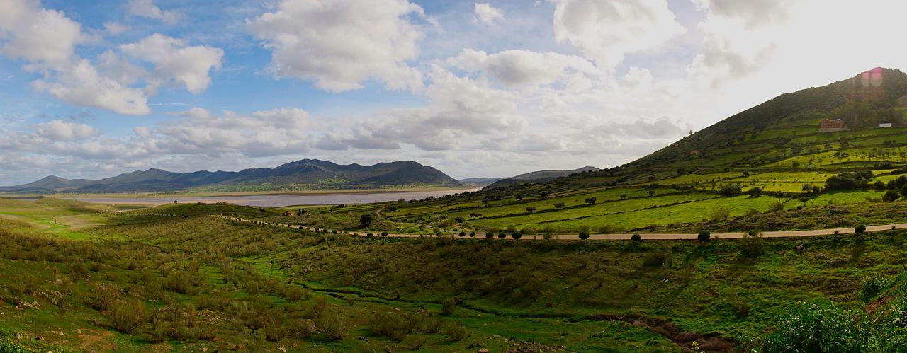 Panoramic view in Spain 🇪🇸 Travel Photography Rural SPAIN Landscape_Collection Panoramic EyeEm Nature Lover Mountain Cloud - Sky Sky Scenics - Nature Beauty In Nature Landscape Tranquil Scene Environment Rural Scene Nature Tranquility