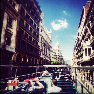 Bus touristic Barcelona SPAIN