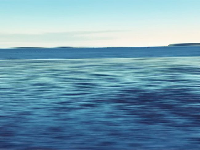 Sea Beauty In Nature Nature Tranquil Scene Tranquility Sea Water Sky Blue Ocean Day Clear Sky