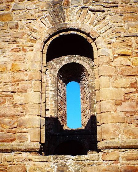 Archwindow Architecture Window Windows Historical Building Sky Blue Bluesky Perspective Layer Layers Arches Stone Sandstone Historic Historic Architecture Church Abandoned Shropshire Abandoned Places Abandoned Buildings