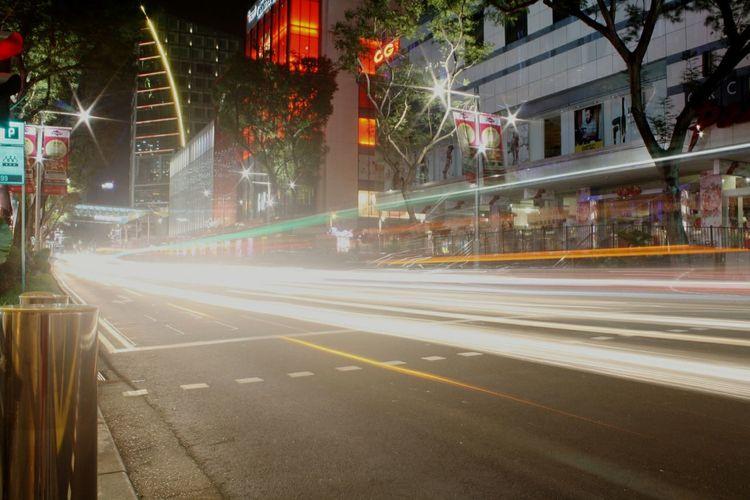 Night View Car