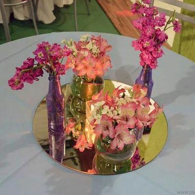 Centro de mesa para nossa linda debutante. Dd2decor Dd2eventos Festadakaren15a Decoracao15anos Decoracaodefestas Newlifedigital