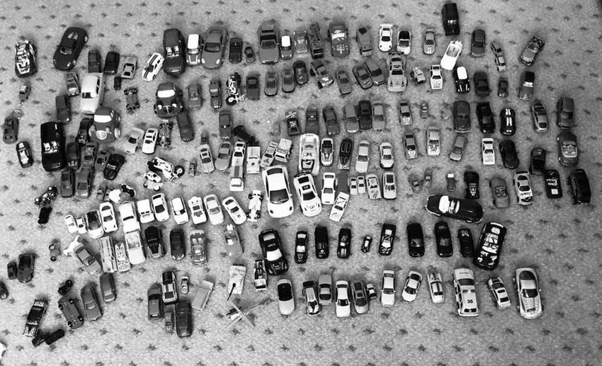 Toy Cars Collection Toy Cars Large Group Of Objects No People