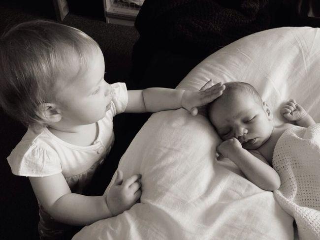 RePicture Giving Love Family Siblings Sibling Love Daughter Son Newborn