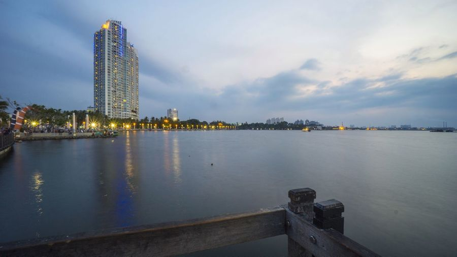 the ancol beach in jakarta Portfolio Of Arif Wibowo Photograph By Jgawibowo Portfolio Of Jgawibowo Photography By Jgawibowo Landscape Nature Sunset Sunset_collection Holiday Tourist Attraction  Building Highrise Architecture Reflection Jetty Bridge Twilight City Cityscape Urban Skyline Water Skyscraper Modern Business Finance And Industry Sky Architecture Building Exterior Ocean Pier Evening