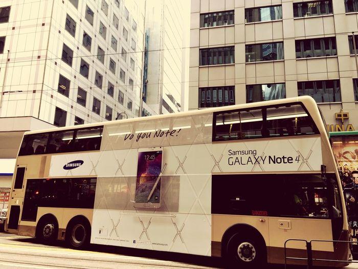 버스. Samsung Bus