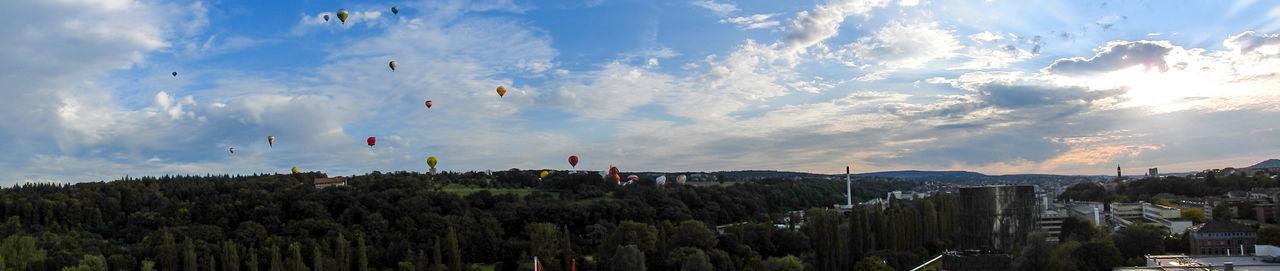 11. International German Cup GermanCup Pforzheim Germany Aerostat Balloon Ballooning Festival Beauty In Nature City Cloud - Sky Day Festival Hot-air Balloon Landscape Mountain Nature No People Outdoors Panoramic Pforzheim Scenics Sky Sunset