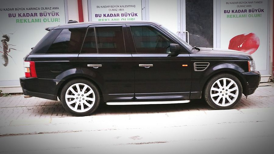 Street Car Transportation Land Vehicle Day Outdoors Stationary Text No People Rangerover Rangefinder Ranges Range Of This Morning Rangefindercamera Range Rover Evoque Range Rover Range Rover Sport Rangefinder Street Photography Rangeroversport