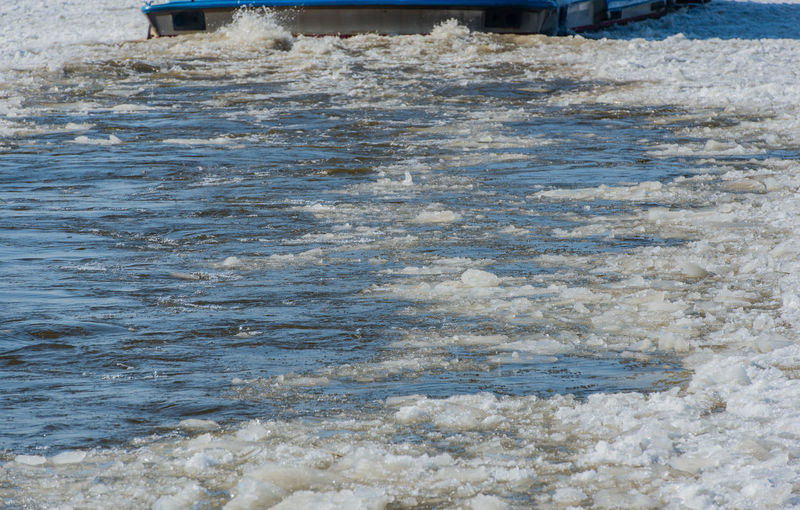 Barges Boats lie iceboundly in the memory town with the Hamburg harbor Barge Barges Boats Frozen Iced Up Motor Carcass Passenger Ship Ship's Bow Wave Winter Working Boat Floes Harbor Boat Harbour Round Trip Inland Waterway Longboat Low Waters Motorboat Nautical Vessel Pack Ice Passenger Liner Passengers Boat River Ship Bug The Elbe Water