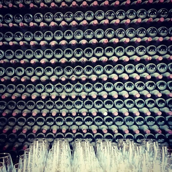 Lanzarote Lanzarote-Canarias Wine Cellar Wine Winemaking In A Row Abundance Wine Bottle Enjoying Life Enjoying Wine
