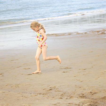 Capturing Freedom Littlegirl Beach Photography Beachphotography Beach Netherlands Nordsee