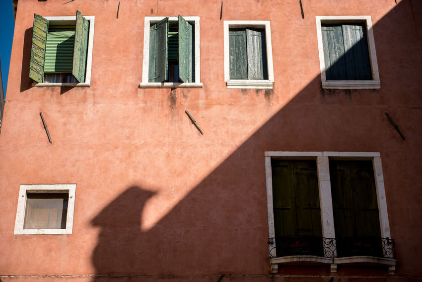 Venice, Italy Architecture Building Exterior Built Structure City Day No People Outdoors Shadow Venice Window