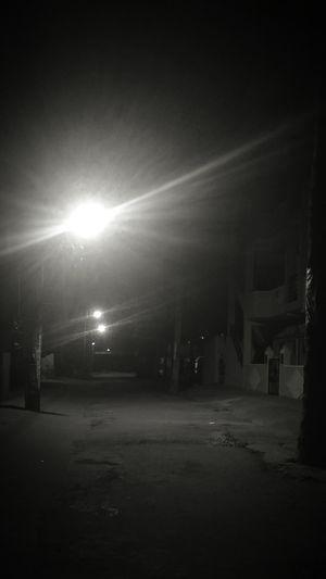 dark empty Street Street Dark Road EyeEm Selects XperiaZ3compact XPERIA Night Illuminated No People Outdoors City Ghetto