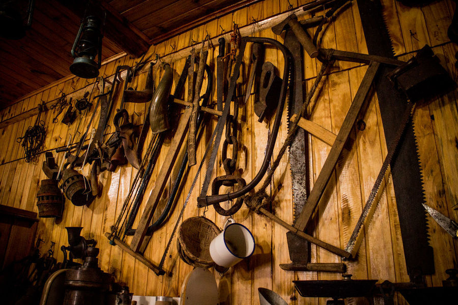 Gramado, Brazil Day Hanging Indoors  No People Old Hardware Wood - Material
