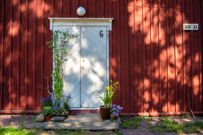 Strömforsin Ruukki Red Sunny Architecture Building Exterior Built Structure Country Life Countryside Day Growth Light And Shadow Nature No People Outdoors Plant Protection Red Barn Rural Scene Safety Village Village View Wooden Architecture Wooden Barn Wooden House The Week On EyeEm