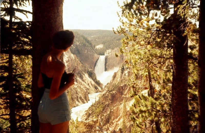 Vinatge 1970s Adventure Beauty In Nature Day Exploring High Waisted Jeans Leisure Activity Men Montana Nature Old Fashion One Person Outdoors Real People Scenics Sky Standing Sunlight Teenager Tranquility Tree Vintage Vintage Photo Waterfall Woman Miles Away Miles Away EyeEmNewHere Women Around The World Women Around The World The Great Outdoors - 2018 EyeEm Awards