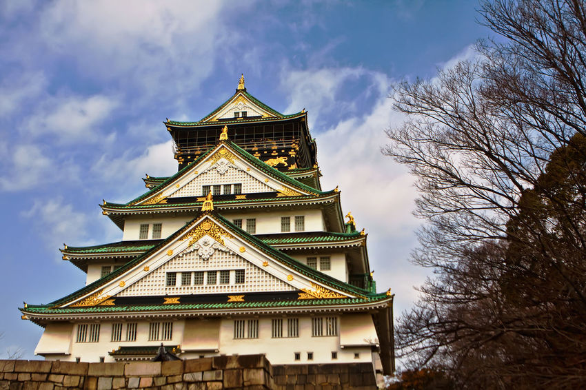 Castle Japan Japanese History Japanese Park OSAKA Osaka Castle Osaka,Japan Osaka Castle Park