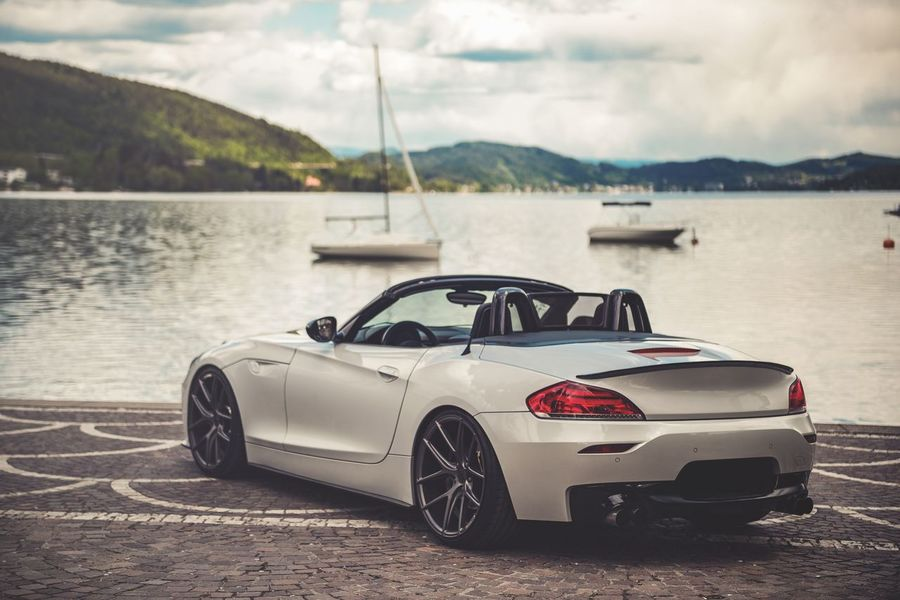 Automotive Bmw Car Close-up Convertible Custom Day Land Vehicle Mode Of Transport Mountain Nature No People Outdoors Sky Transportation Tuning Water Z4