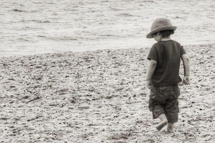 Beach Enjoying Life Solace child Life Is A Beach Life
