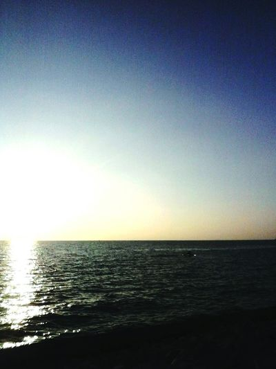 Sunrise Over The Sea Being A Beach Bum Enjoying The Sun